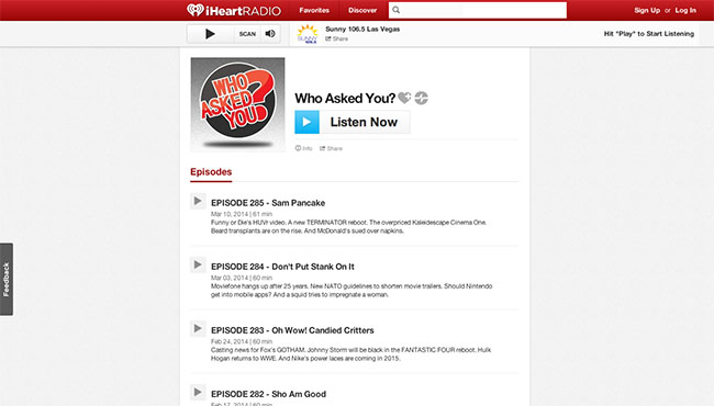 Who Asked You? on iHeartRadio