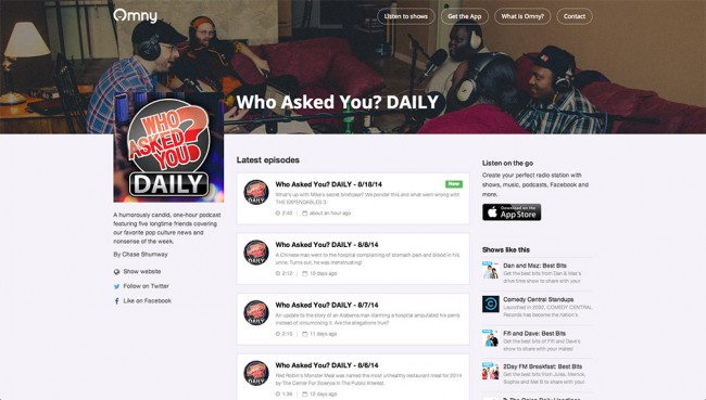 Who Asked You? DAILY on Omny