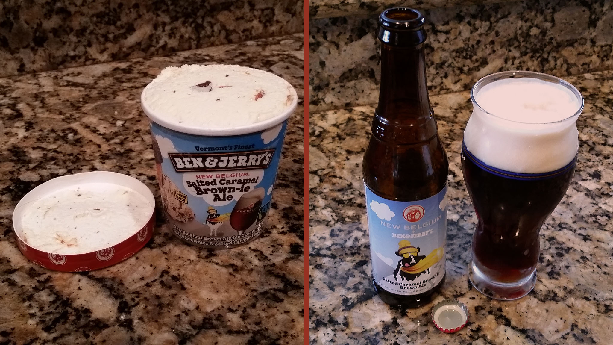 Ben & Jerry's Salted Caramel Brown-ie Ale
