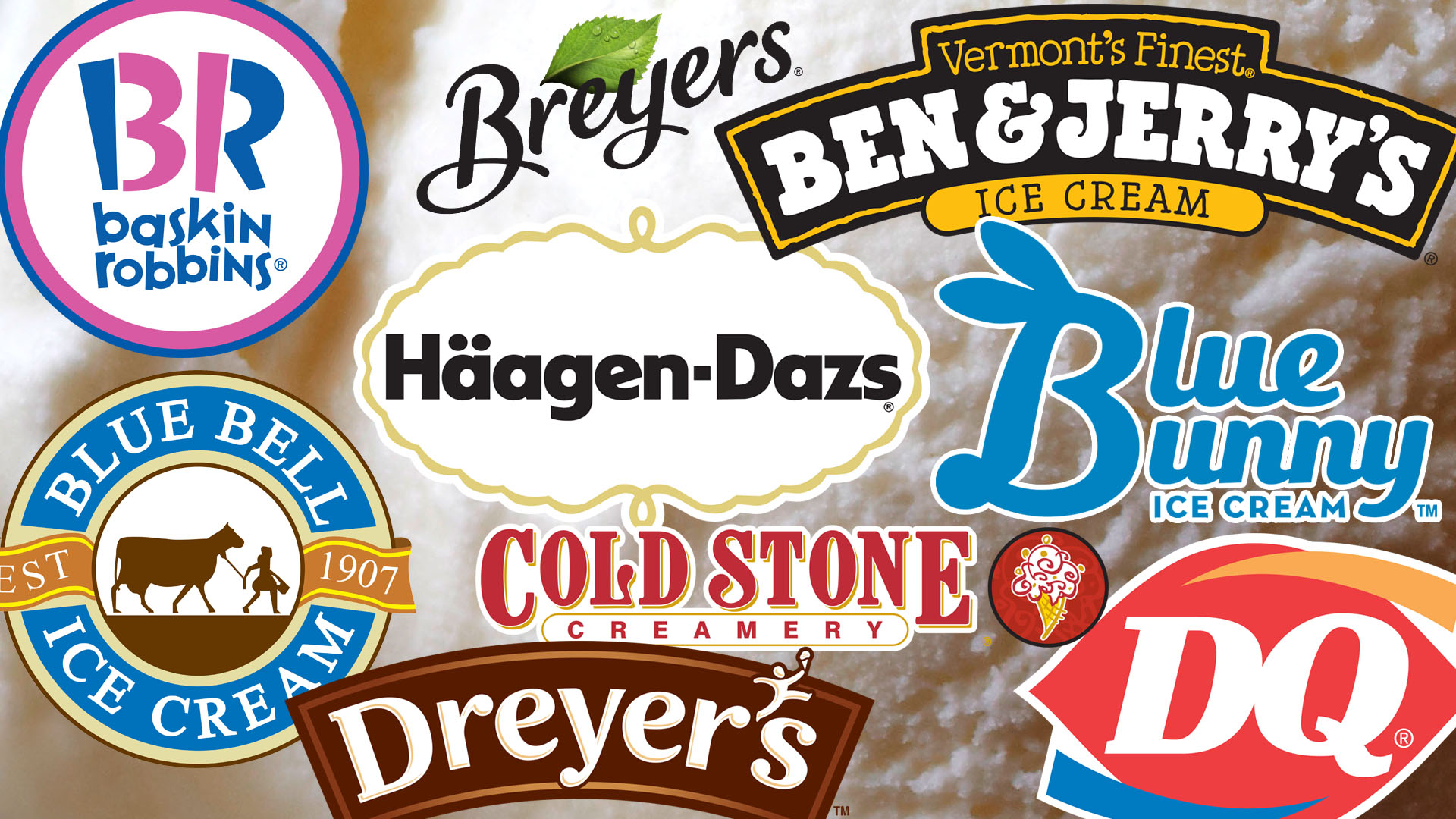 Major Ice Cream Brands